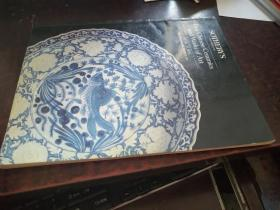 Fine Chinese Ceramic and Works of Art NEW YORK (纽约苏富比1987年拍卖图录)
