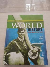 WORLD  HISTORY  THE MODERN ERA 精裝原版