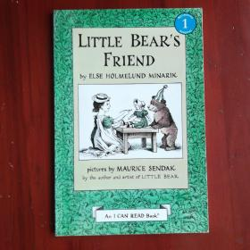 Little Bear's Friend (I Can Read, Level 1)小熊的朋友 英文原版