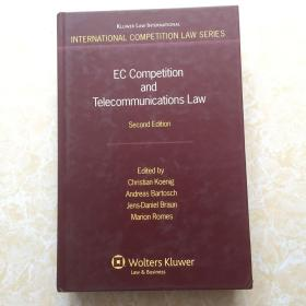 EC Competition and Telecommunications Law【精装16开】
