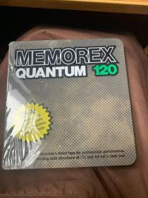 MEMOREX  QUANTUM 120 new an advanced open reel tape for professional reproduction 是一种用于专业复制的高级开卷磁带,未开封全新