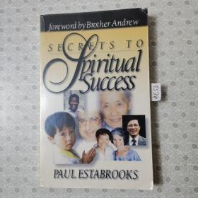 32开英文原版 Secrets to spiritual success