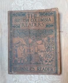 民国英文书:THE  BRlTlSH  COLUMBlA  READERS