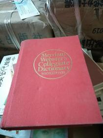 Merriam Webster' s Collegiate Dictionary  英文原版