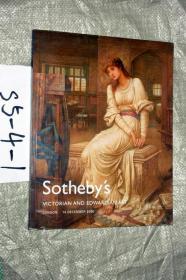 sothebys蘇富比2006年拍賣圖錄VICTRIAN AND EDWARDIAN ART...VICTRIAN和愛德華七世時代的藝術