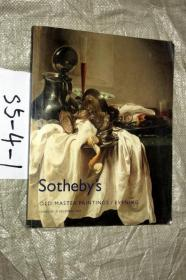 2007年苏富比Sothebys OLD MASTER PAINTINGS EVENING 名画拍卖图录