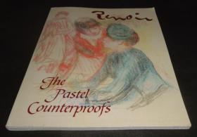 2手英文 Renoir: The Pastel Counterproofs 雷诺阿 scc81