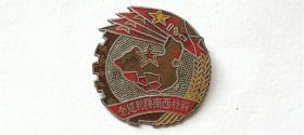 """1949年西南軍頒發""""解放西南勝利""""銅紀念章"""