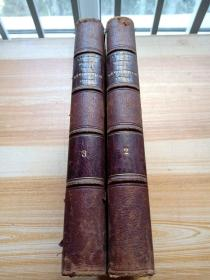 histoire  de la  revolution  1870 -1871 法文原版精裝2.3卷2本