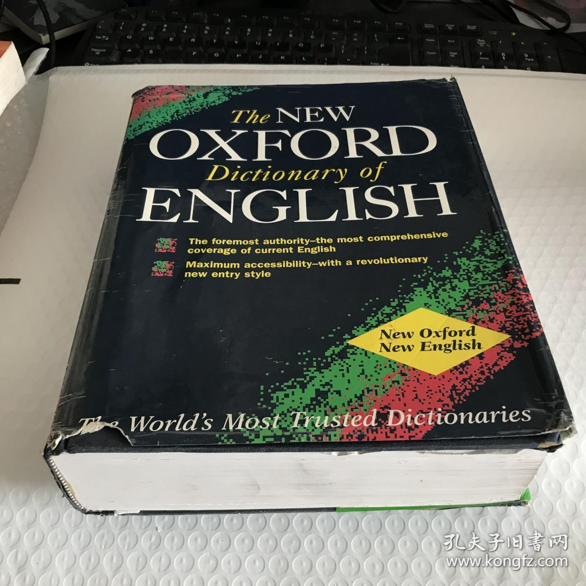 The NEW OXFORD Dictionary of ENGLISHA外文原版