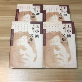 《王小波文集1-4卷(精装)》四册全 中国青年出版社1999年1版1印 仅印2000册(自然旧 未翻阅)