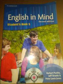English in Mind (2nd edition) workbook 5有光盘