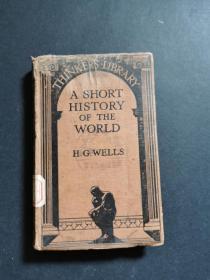 A Short History of the World 世界簡史1930版 精裝外文原版