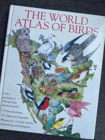 现货 The World Atlas of Birds
