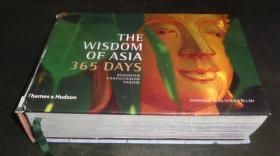 封壳破损 修补过 2手英文 The Wisdom of Asia - 365 Days: Buddhism, Confucianism, Taoism fa36