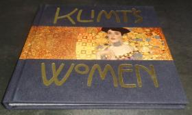 2手英文 Klimt's Women (Mini Albums) 克里姆特 妇女 小本 fa38