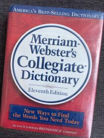 现货 Merriam-Webster's Collegiate Dictionary