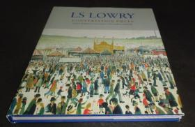 2手英文 LS Lowry: Conversation Pieces 劳瑞 L.S.Lowry sfa85
