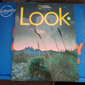 NATⅠONAL  GEOGRAPHⅠC  LEARNⅠNG   LOOK  6 students    book  十 workbook 【两本合焦】