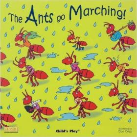 全新The Ants Go Marching!正版