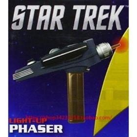现货Star Trek: Light-Up Phaser [消费电子] Running Press正版