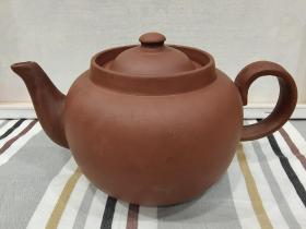 五十年代廣西欽州坭興陶茶壺