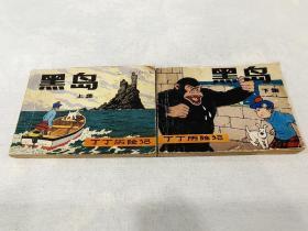 丁丁歷險記《黑島》上下集8箱