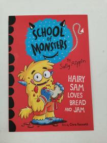 Hairy Sam Loves Bread and Jam: School of Monsters