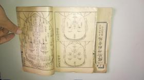 民國風水相面書《太乙照神經》內有大量面相插圖 兩卷兩冊 詳情見圖