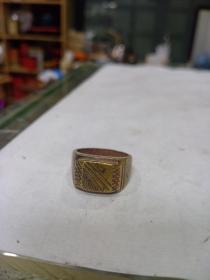 老銅戒指,包漿漂亮