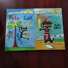 Pete the Cat: Play Ball! (My First I Can Read) 皮特猫打球(六本合售)