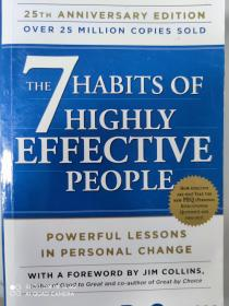 (欢迎下单)The 7 Habits of Highly Effective People9781451639612