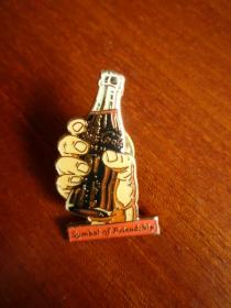 奧運會期間 世界著名品牌 徽章(可樂 金屬制品)【搜索詞 :紀念章.徽章 編86.2】