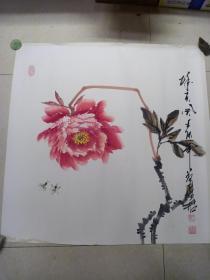 王君 手繪[畫心 70 x 70]
