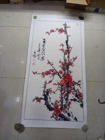 王君 手繪[畫心 108 x 54]
