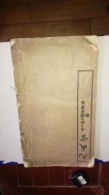 民國線裝字帖《九成宮》白宣精印一冊全 內有毛筆簽名 詳情見圖