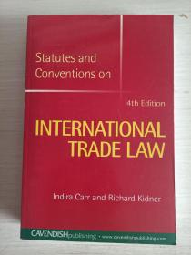 international trade law:4th edition