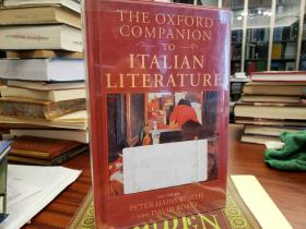 The Oxford companion to Italian Literature
