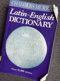 现货 Chambers Murray Latin-English Dictionary