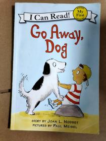 现货!Go Away, Dog (My First I Can Read)小狗,走开 9780064442312