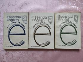 Essential English for Foreign Students2、3、4(外国学生基本英语)三本合售