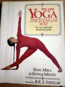 现货!Yoga:The Iyengar Way 9780679722878