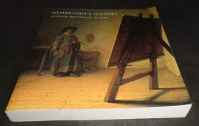 2手英文 Rembrandt's Journey: Painter, Draftsman, Etcher 伦勃朗版画素描 sed90