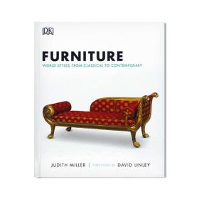 "全新正版现货 Furniture: World Styles from Classical to Contemporary DK世界家具大百科 DK 家具的""博物大百科""全书 英文原版"
