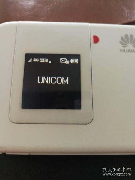 华为(HUAWEI) 华为E5375移动电信联通LTE三网4G无线路由器随身WIFI 白色 白色