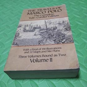 马可波罗游记第二卷 the travels of marco polo the complete yule-cordier edition