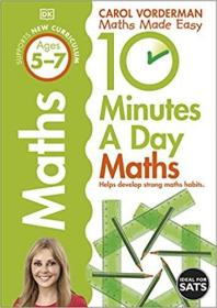 10 Mins Day First Maths Skills Ages 5-7