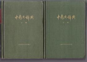中藥大辭典(上下冊)8品 180