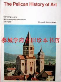 2 X THE PELICAN HISTORY OF ART: KENNETH JOHN CONANT: CAROLINGIAN AND ROMANESQUE ARCHITECTURE 800-1200 / ROSENBERG: DUTCH ART AND ARCHITECTURE 1600-1800