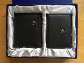 华伦天奴 EmilioValentino 牛皮短夹+名片夹 礼盒装
